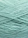 Very thin yarn. It is spinned as two threads. So you will knit as two threads. Yardage information is for only one strand. Fiber Content 100% Acrylic, Water Green, Brand Ice Yarns, fnt2-66139