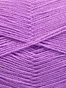 Very thin yarn. It is spinned as two threads. So you will knit as two threads. Yardage information is for only one strand. İçerik 100% Akrilik, Light Lilac, Brand Ice Yarns, fnt2-66172