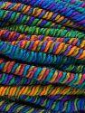 Fiber Content 95% Acrylic, 4% Polyester, 1% Elastan, Rainbow, Brand Ice Yarns, fnt2-66245