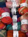 Wool Types This mixed lot includes a total of 2000 gr (70.5 oz.) yarn. There is no standard for ball weight. Also disregard any information on the labels. You will get what you see in the photo. Brand Ice Yarns, fnt2-66298
