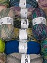 Wool Types This mixed lot includes a total of 2000 gr (70.5 oz.) yarn. There is no standard for ball weight. Also disregard any information on the labels. You will get what you see in the photo. Brand Ice Yarns, fnt2-66303