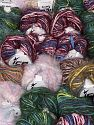 Eyelash Blends This mixed lot includes a total of 2000 gr (70.5 oz.) yarn. There is no standard for ball weight. Also disregard any information on the labels. You will get what you see in the photo. Brand Ice Yarns, fnt2-66314