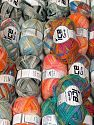 Pontus This mixed lot includes a total of 2000 gr (70.5 oz.) yarn. There is no standard for ball weight. Also disregard any information on the labels. You will get what you see in the photo. Fiber Content 50% Wool, 37% Polyamide, 13% Metallic Lurex, Brand Ice Yarns, fnt2-66390