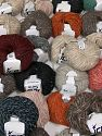 Winter Yarns This mixed lot includes a total of 2000 gr (70.5 oz.) yarn. There is no standard for ball weight. Also disregard any information on the labels. You will get what you see in the photo. Brand Ice Yarns, fnt2-66506