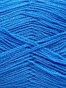 Very thin yarn. It is spinned as two threads. So you will knit as two threads. Yardage information is for only one strand. Fiberinnehåll 100% Akryl, Brand Ice Yarns, Blue, fnt2-66554