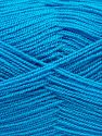 Very thin yarn. It is spinned as two threads. So you will knit as two threads. Yardage information is for only one strand. Fiber Content 100% Acrylic, Turquoise, Brand Ice Yarns, fnt2-66555