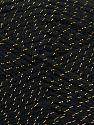 Fiberinnehåll 94% Akryl, 6% metalliskt Lurex, Brand Ice Yarns, Black, Yarn Thickness 3 Light  DK, Light, Worsted, fnt2-66565