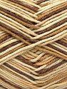 Fiber Content 50% Cotton, 50% Acrylic, Brand Ice Yarns, Cream, Camel, Brown, Yarn Thickness 2 Fine  Sport, Baby, fnt2-66575