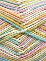 Vezelgehalte 50% Acryl, 50% Katoen, Pastel Rainbow, Brand Ice Yarns, Yarn Thickness 2 Fine  Sport, Baby, fnt2-66583