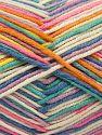 Contenido de fibra 50% Algodón, 50% Acrílico, White, Turquoise, Pink, Lilac, Brand Ice Yarns, Green, Blue, Yarn Thickness 2 Fine  Sport, Baby, fnt2-66585