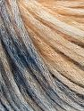 Modal is a type of yarn which is mixed with the silky type of fiber. It is derived from the beech trees. Fiber Content 74% Modal, 26% Wool, Light Salmon, Brand Ice Yarns, Blue Shades, fnt2-66595