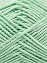 Fiber Content 50% Acrylic, 50% Bamboo, Light Mint Green, Brand Ice Yarns, fnt2-66602