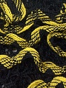 Fiber Content 100% Acrylic, Yellow, Brand ICE, Black, Yarn Thickness 6 SuperBulky  Bulky, Roving, fnt2-25163