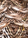 Fiber Content 90% Acrylic, 10% Polyester, Light Brown, Brand ICE, Cream, Camel, Yarn Thickness 6 SuperBulky  Bulky, Roving, fnt2-25317
