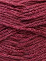 Fiber Content 70% Dralon, 30% Alpaca, Brand ICE, Burgundy, Yarn Thickness 4 Medium  Worsted, Afghan, Aran, fnt2-25668