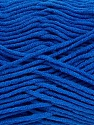 Fiber Content 55% Cotton, 45% Acrylic, Royal Blue, Brand ICE, Yarn Thickness 4 Medium  Worsted, Afghan, Aran, fnt2-45152