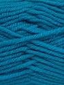 Fiber Content 50% Acrylic, 25% Wool, 25% Alpaca, Turquoise, Brand ICE, Yarn Thickness 5 Bulky  Chunky, Craft, Rug, fnt2-47145