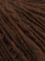 Fiber Content 60% Merino Wool, 40% Acrylic, Brand ICE, Brown, Yarn Thickness 4 Medium  Worsted, Afghan, Aran, fnt2-47249